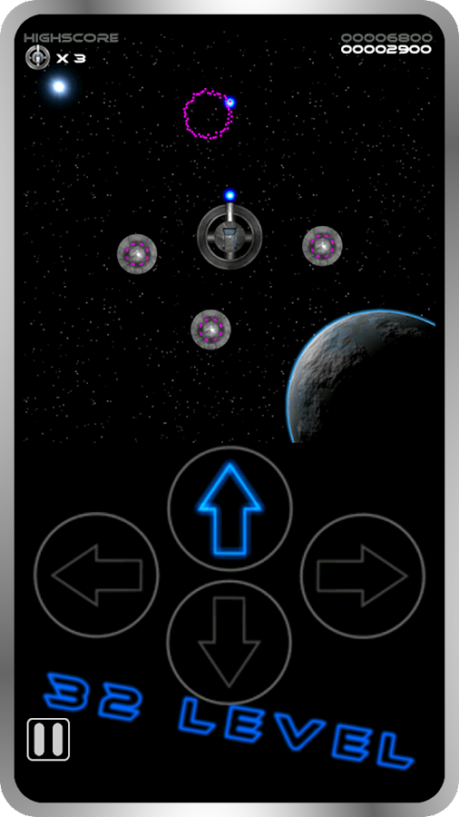 Space Attack HD FREE- screenshot