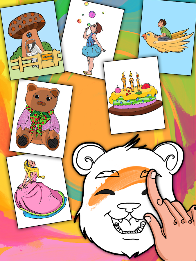 Coloring Book-Paint Draw Kids - screenshot
