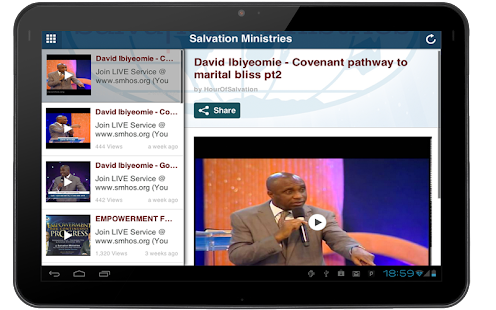 Salvation Ministries- screenshot thumbnail