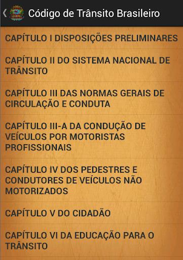 Código de transito Brasileiro