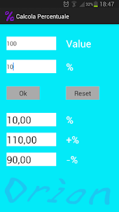 Percentage Calculator- screenshot thumbnail