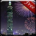Taipei Taiwan Firework LWP icon