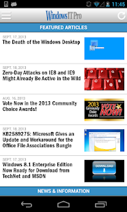 Windows IT Pro Mobile- screenshot thumbnail