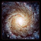Galaxia fondo de pantalla icon