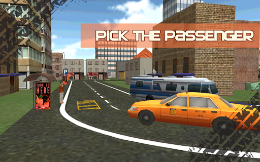 瘋狂的出租車司機3D責任|玩模擬App免費|玩APPs