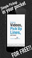 Screenshot of Simple Pickup Lines