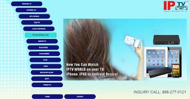 Screenshot of IPTVWorld