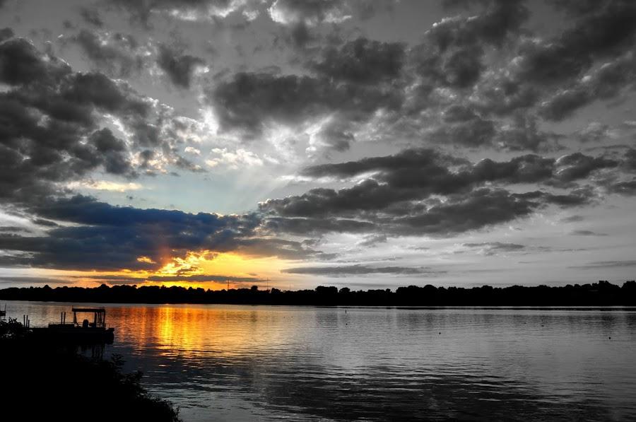 Splash of Color by John Bauer - Landscapes Sunsets & Sunrises