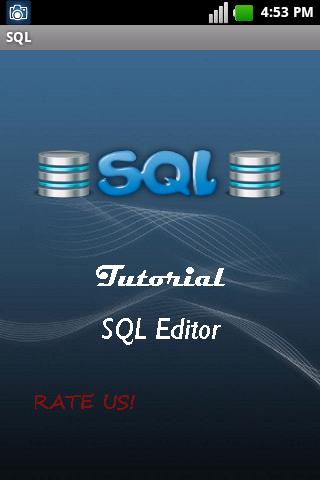 SQL Tutorial Editor