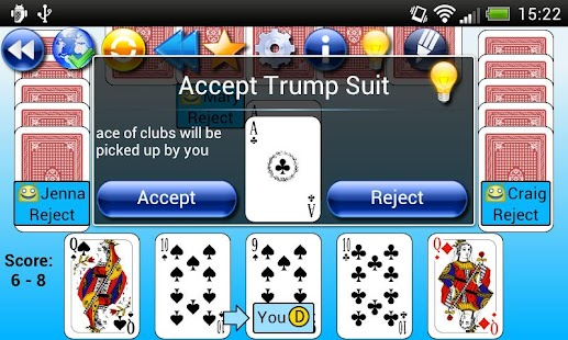 G4A: Euchre- screenshot thumbnail