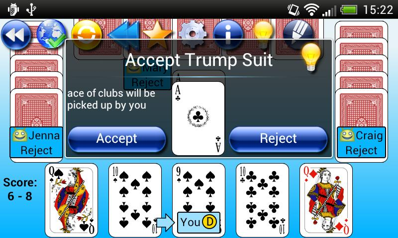 G4A: Euchre - screenshot