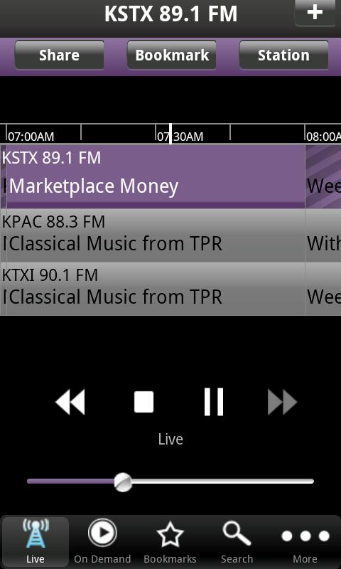 TPR Public Radio App - screenshot