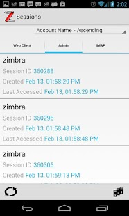 ZadmiN - Zimbra Administration - screenshot thumbnail