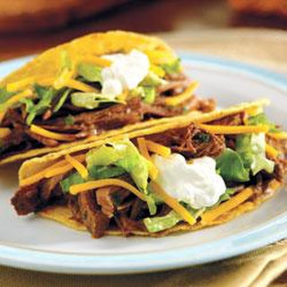 Slow-Cooked Taco Shredded Beef.