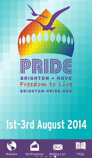 【免費娛樂App】Brighton Pride 2014-APP點子