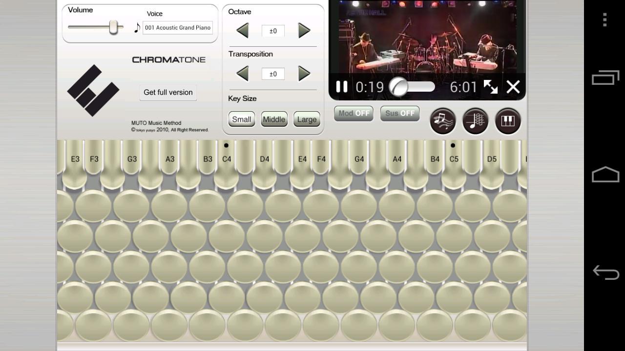 Chromatone for Android- screenshot
