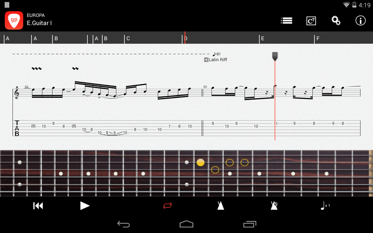 Guitar Pro - Android Apps on Google Play