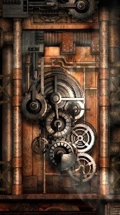Steampunk Live Wallpaper Gears Android Apps On Google Play