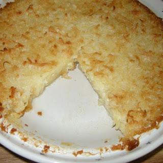 Mama's Amazingly Easy Coconut Pie.