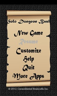 Solo Dungeon Bash - screenshot thumbnail