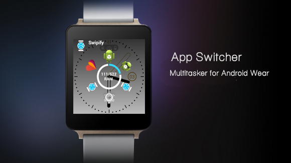 Swipify - Wear Launcher- screenshot