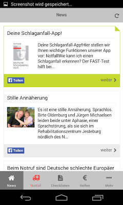 Schlaganfall-Hilfe - screenshot
