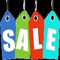 Sale price calculator free icon