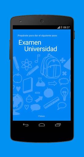 Examen Universidad