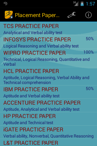 Placement Papers 2014