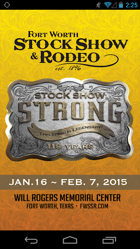Fort Worth Stock Show Rodeo