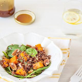 Roasted Butternut Pumpkin Quinoa Salad