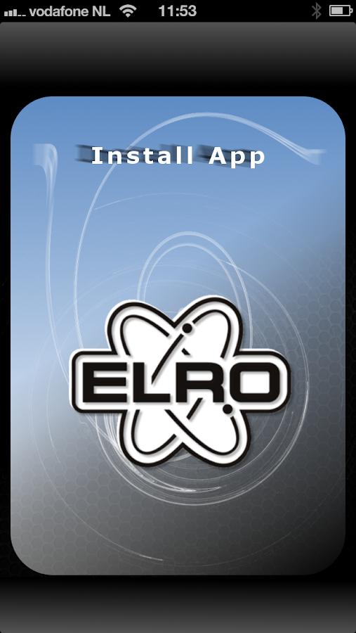 ELRO INSTALL - screenshot