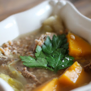 Pot Au Feu With Barley.