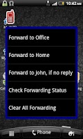 Screenshot of Dialpad Shortcut Widgets