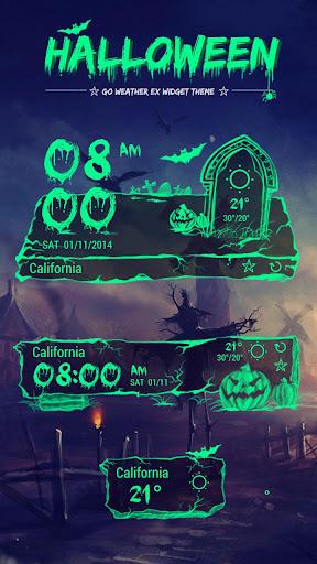 Halloween 主题GO天气EX
