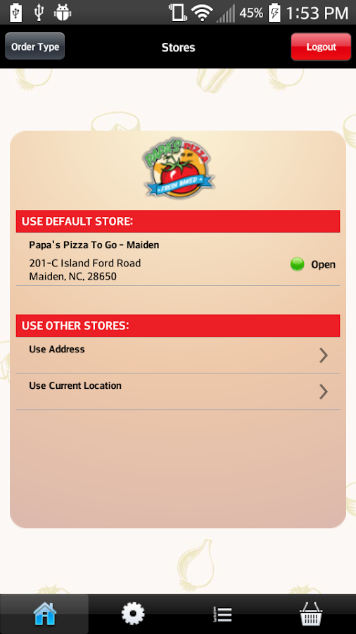 Papa's Pizza To Go- screenshot