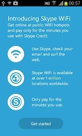 Skype WiFi Screenshot 1