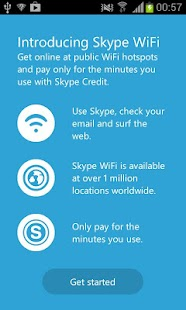 Skype WiFi Screenshot 1