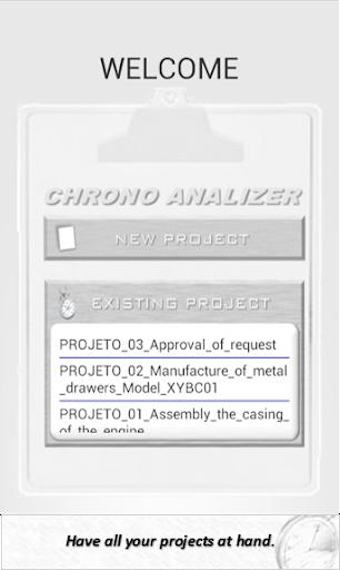 CHRONO Analyzer - chronometer