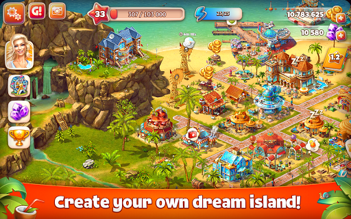 Paradise Island 2 v3.3.3.6 APK (Mod)