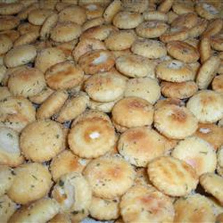 Ranch Style Oyster Crackers.