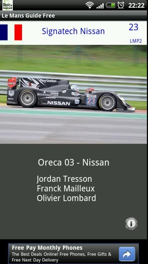 Le Mans Visual Guide- screenshot