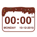 Chocolatecake Clock Widget icon