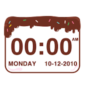 Chocolatecake Clock Widget