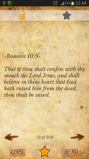 500 Popular Bible Verses KJV