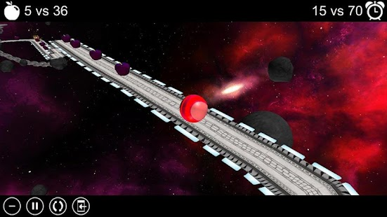 Apple Run 3D Space- screenshot thumbnail