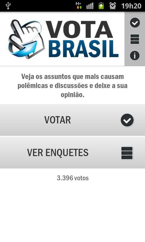 Vota Brasil- screenshot