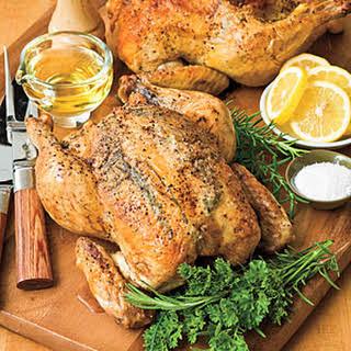 Marian's Easy Roast Chicken.