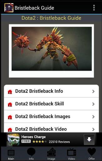 【免費程式庫與試用程式App】Bristleback Guide-APP點子