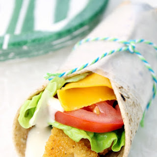 Crispy Chicken Snack Wraps